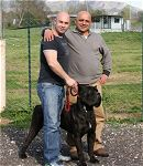 PETE with BRUTO DELL APPIO and MICHELE MARANO - Click for Larger View